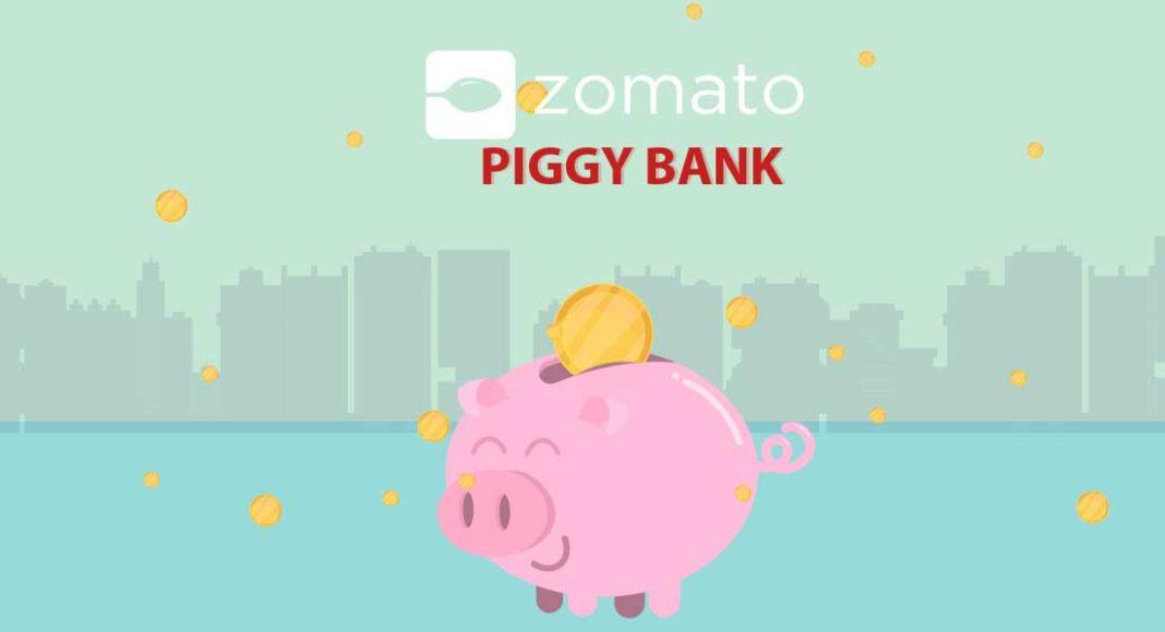 zomato piggy bank