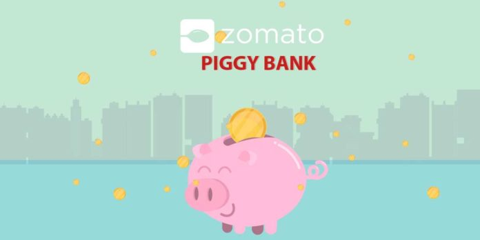 zomato piggy bank